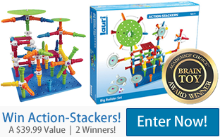 Action-Stackers Big Builder Set - Brain Toy Award Winner