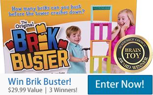 Win Brik Busters - Brain Toy Award Winner
